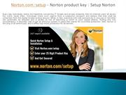 Norton.com/setup | Enter Norton Product Key - Norton Setup