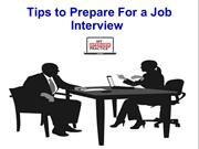 Best Tips to Prepare For a Job Interview