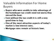 Valuable Information For Home Buyers red
