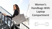 Women's Handbags With Laptop Compartment