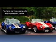 Find And Purchase Car Parts And Accessories Online