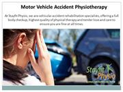 Motor Vehicle Accident Physiotherapy in Ottawa