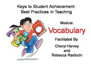 math-vocabulary-module