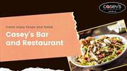Enjoy Delicious Soups and salad at Casey's Bar and Restaurant
