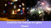 Celebrate The Festival Of Lights-Diwali
