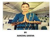 PRINCIPLES OF AIRPORT MANAGEMENT