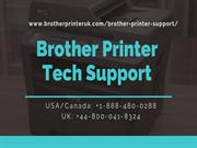 Online Support for Brother Printer | USA | +1-888-480-0288