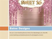 Creative Wedding Welcome Sign & Backdrop Banners