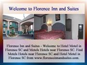 Hotel Motel in Florence SC, Motels Hotel