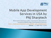 Best Mobile App Development Services in USA