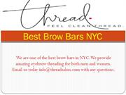 Best Brow Bars NYC