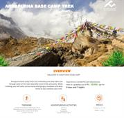 Annapurna base camp Trek  Central Nepal