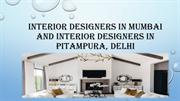 Interior designers in Mumbai and interior designers in