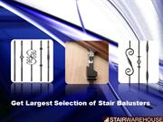 Get Largest Selection of Stair Balusters