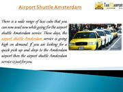 Airport Shuttle Amsterdam