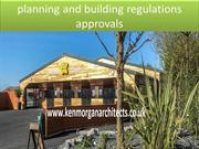 planning and building regulations approvals