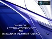 Commercial restaurant equipment for Sale
