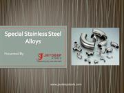 Special Stainless Steel Alloys