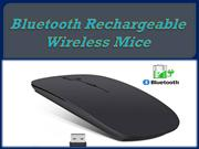 Bluetooth Rechargeable Wireless Mice