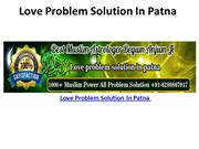 Love Problem Solution In Patna