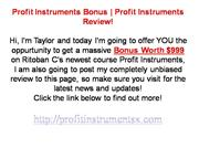 Profit Instruments | Review & Bonus
