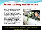 Atlanta-Party-Ride-Atlanta Airport Shuttle