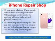 Best iPhone Screen Repair Services in UAE