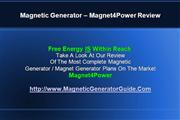 Magnetic Generator Guide