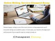 Top Research Paper Website & Research Paper Writer | Cheapest Essay