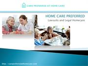 Home Care Service in Lawsuit, New York & Brooklyn for
