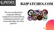 Printed Brazilian jiu jitsu patches