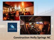 Commercial Construction Specialist in Holly Springs, NC