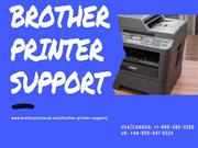 Support for Brother Printer | Toll-free | +1-888-480-0288