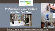 Professional Water Damage repair services in Fort Myers
