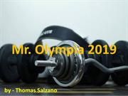 Thomas J Salzano - Mr Olympia 2019 Competition