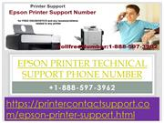 Epson Printer Technical Support Phone Number +1-888-597-3962