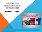 Xerox Printer Technical Support Phone Number +1-888-597-3962