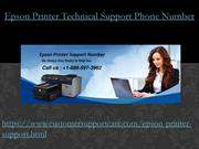 Epson Printer Tech Support Phone Number +1-888-597-3962