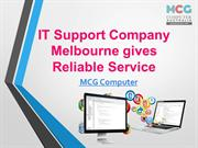 Professional IT support company melbourne gives reliable services