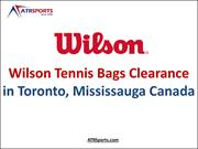 Wilson Tennis Bags Clearance in Toronto, Mississauga Canada