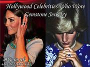 Hollywood Celebrities Who Wearing  Sapphire Jewelry