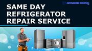 Same Day Refrigerator Repair Service in Naples