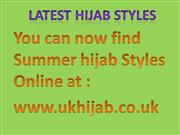 Latest Hijab Styles powerpoint