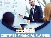 Importance of Certified Financial Planner