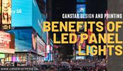 Benefits of Led Panel Lights by Printing Services North York
