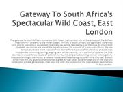 Gateway To South Africa's Spectacular Wild Coast,East London