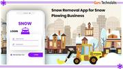 Snow Removal App for Snow Plowing Business