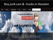 Sell junk car without title houston