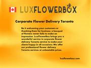 Corporate Flower Delivery Toronto