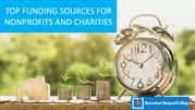 Top Funding Sources for Nonprofits & Charities